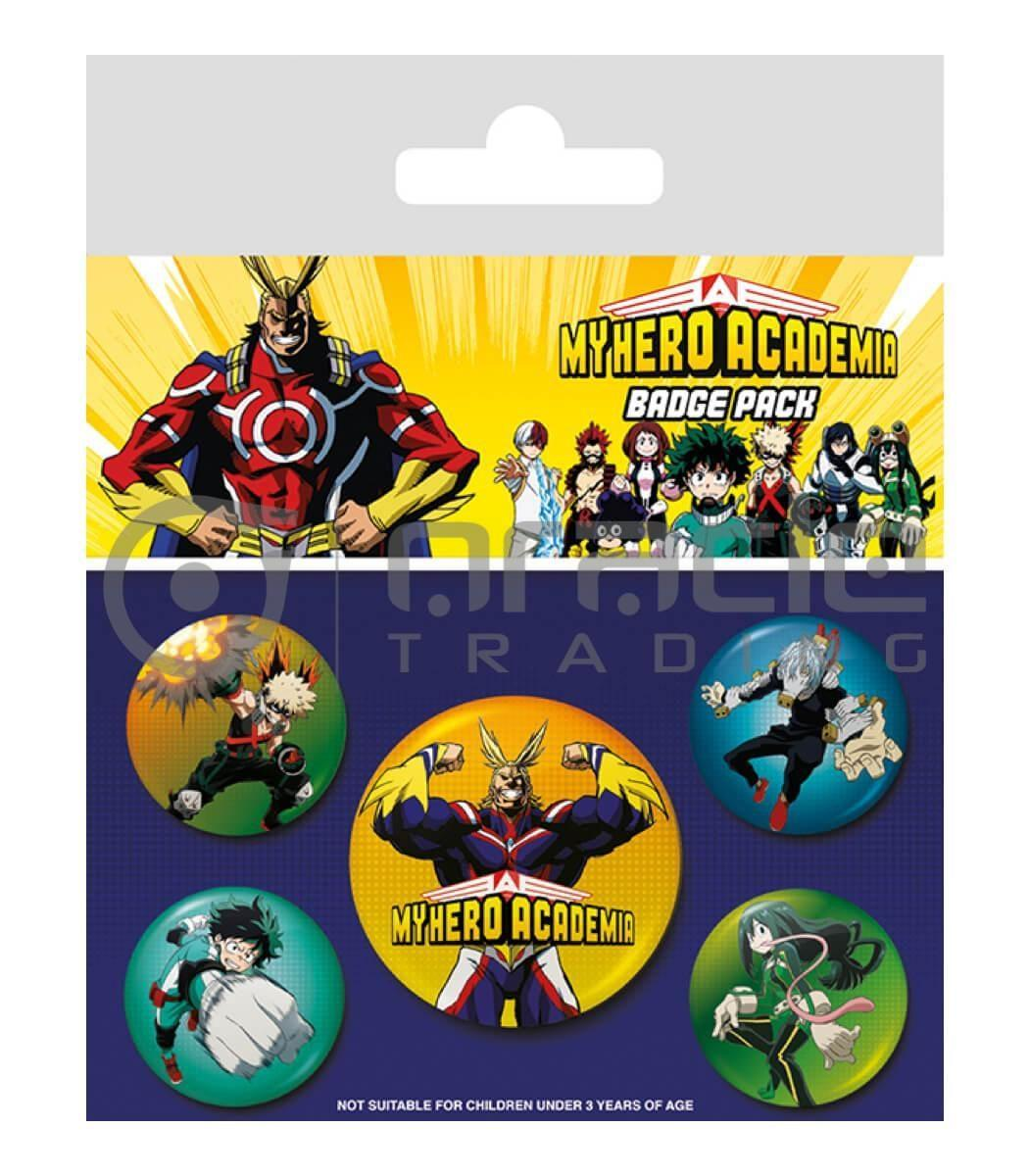 My Hero Academia Badge Pack