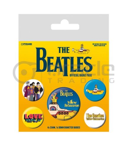 The Beatles Sgt. Pepper Badge Pack