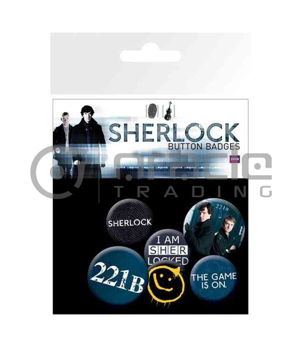 Sherlock Badge Pack