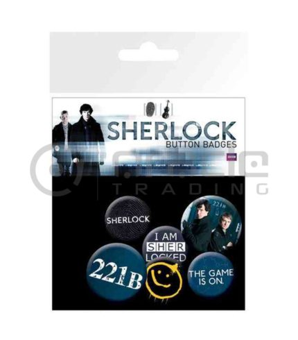 Sherlock Badge Pack