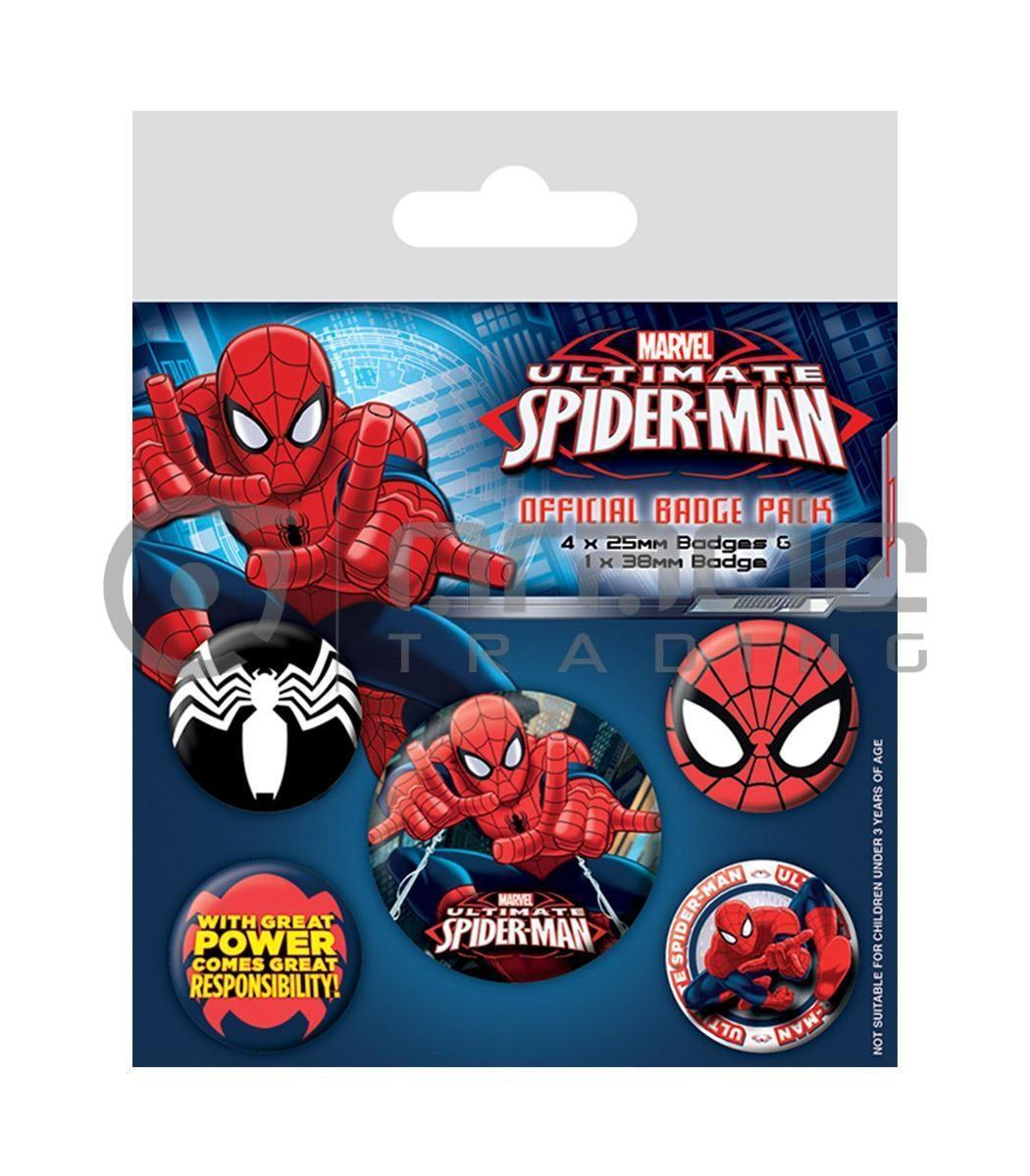 Spiderman Badge Pack