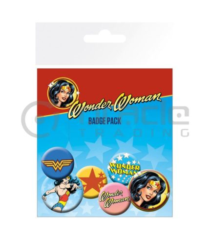 Wonder Woman Classic Badge Pack