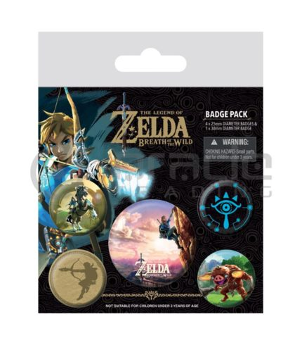 Zelda Badge Pack (The Climb)