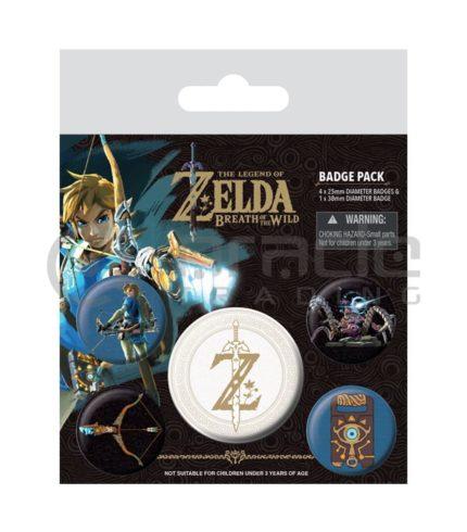 Zelda Badge Pack (Z Emblem)