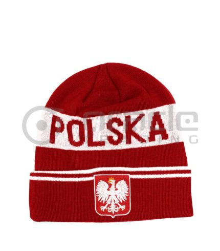 Poland Fold-up Beanie