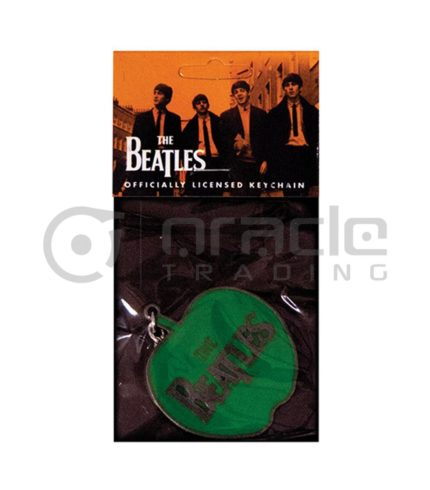The Beatles Apple Logo Keychain