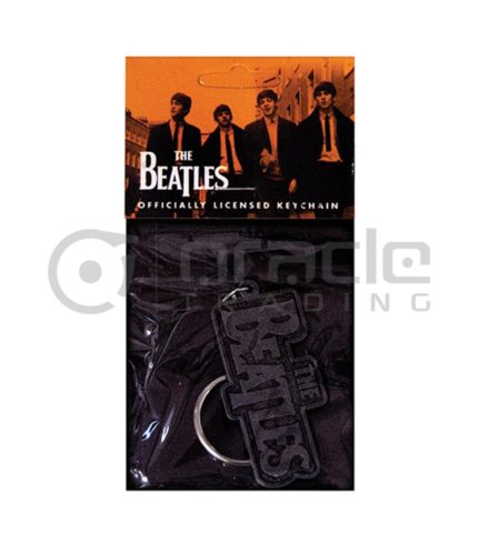 The Beatles Logo Keychain