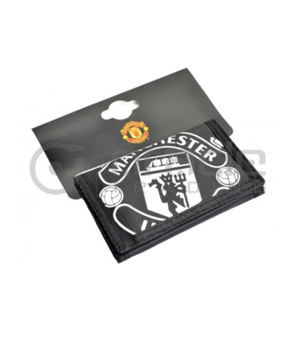 Manchester United Black Wallet