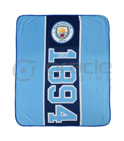 Manchester City Fleece Blanket