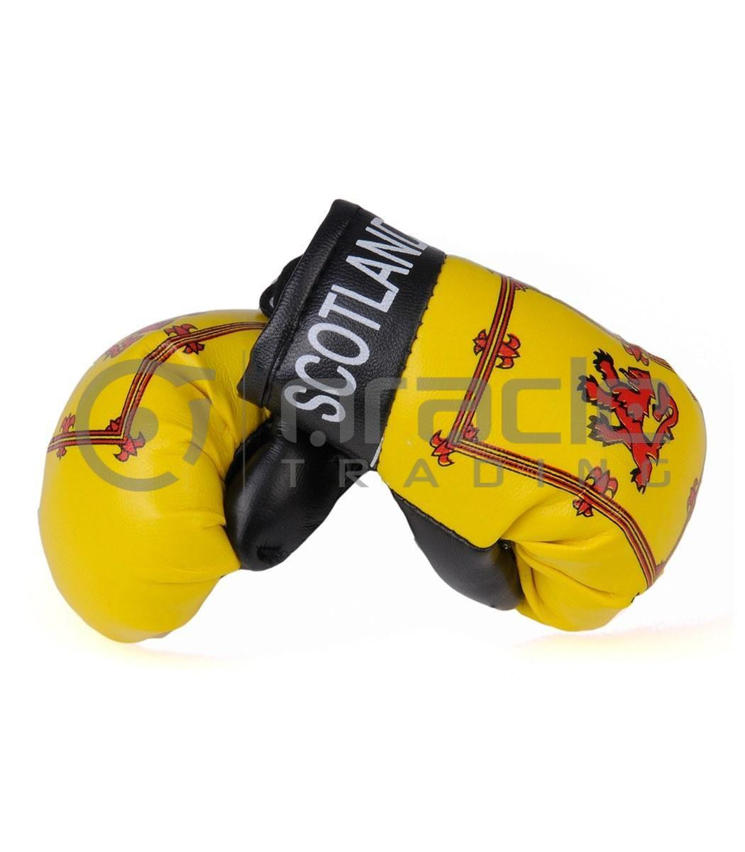 Scotland Boxing Gloves - Rampant Lion