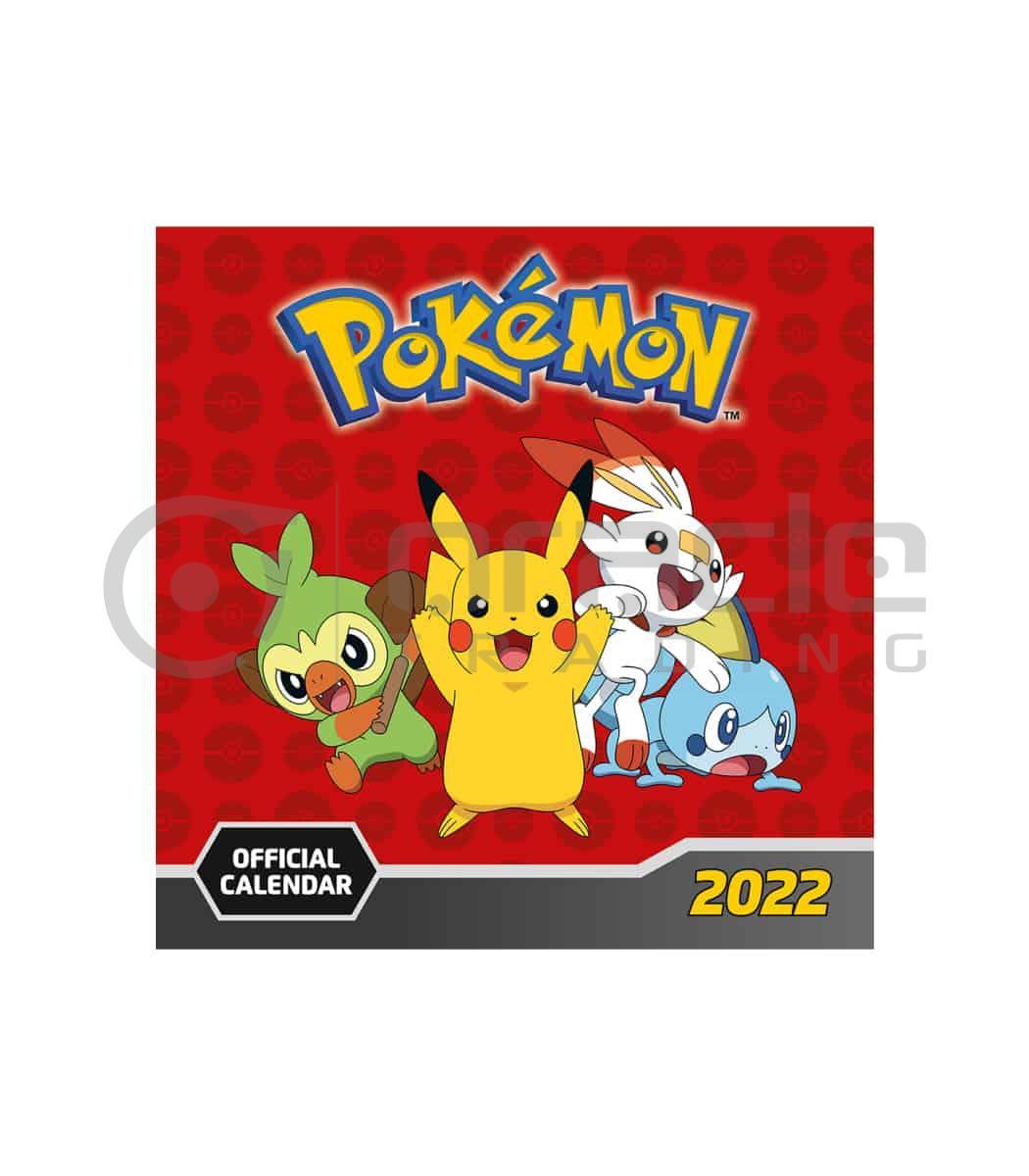 Pokémon 2022 Calendar (OCT Delivery)