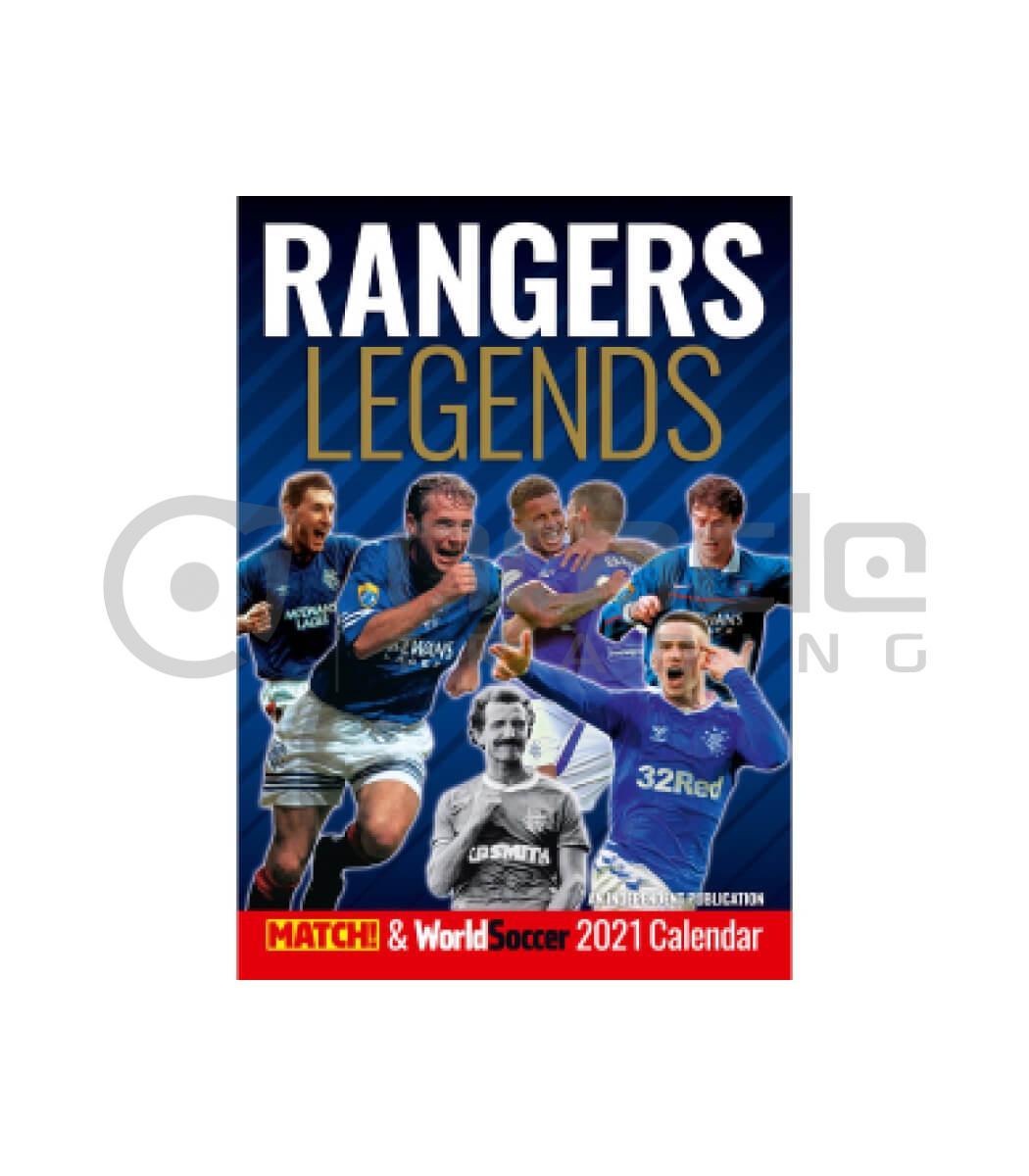Rangers 2022 Calendar (NOV Delivery)