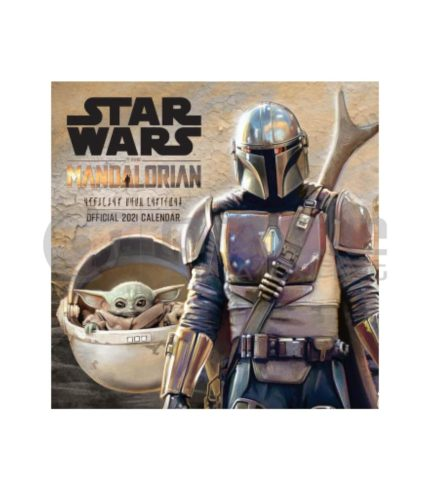 Star Wars: The Mandalorian 2021 Calendar