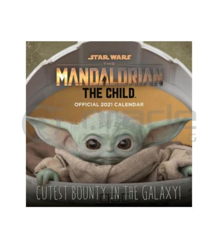 Star Wars: The Mandalorian 2021 Calendar - The Child