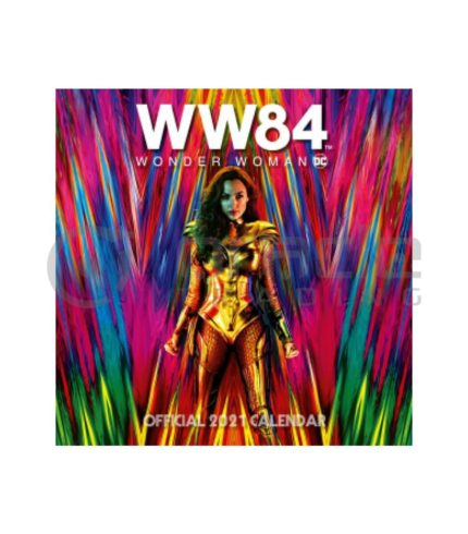 Wonder Woman 2021 Calendar