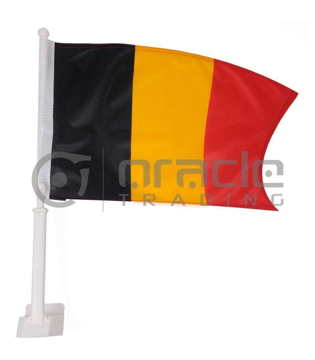 Belgium Car Flag