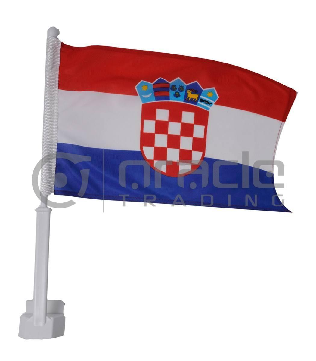 Croatia Car Flag