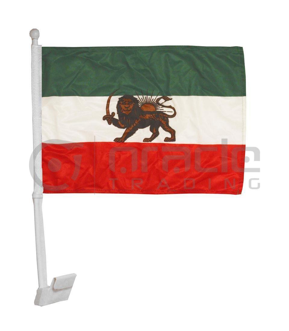 Iran Car Flag