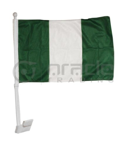 Nigeria Car Flag