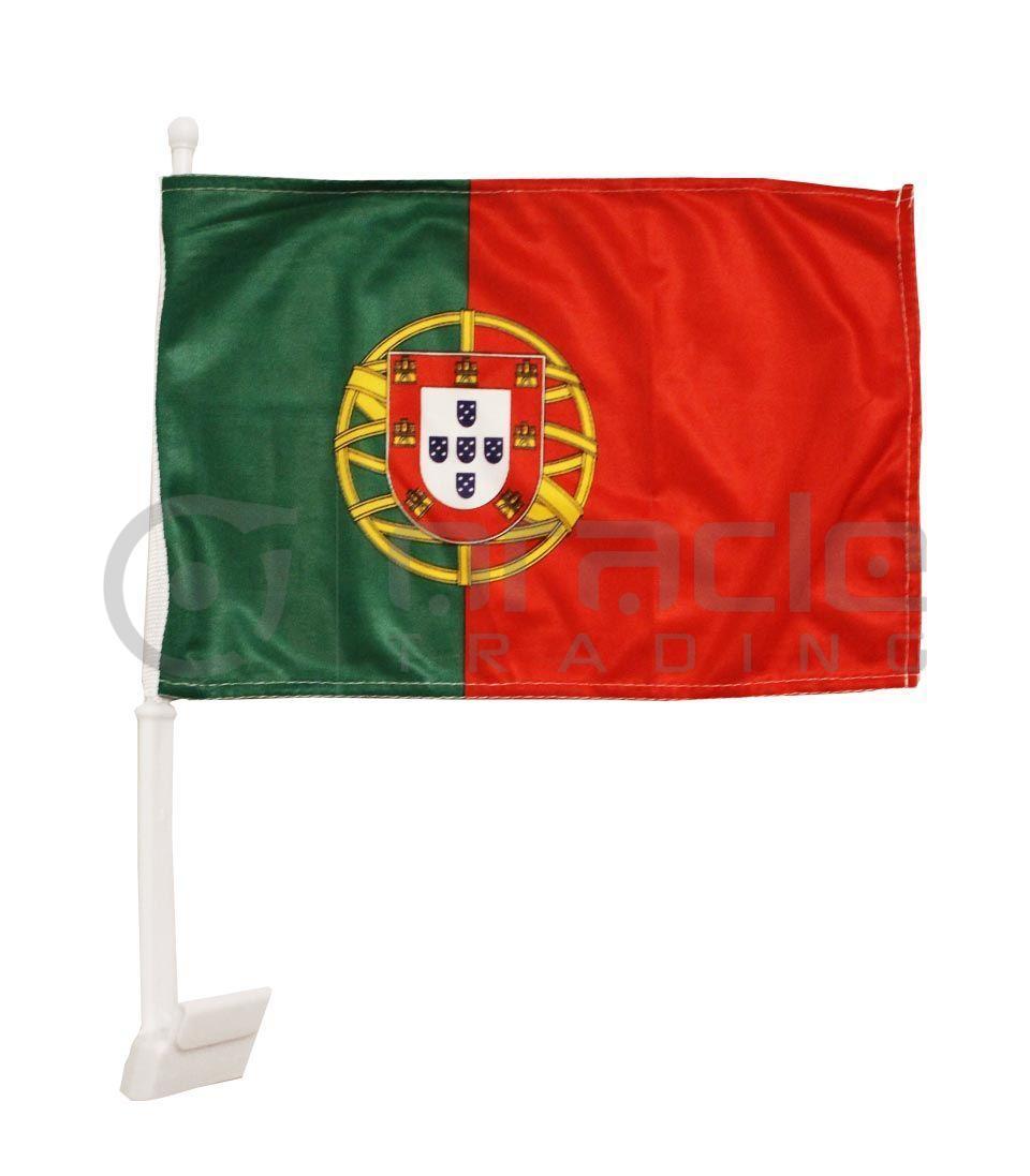 Portugal Car Flag