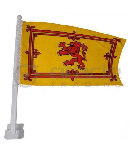Scotland Car Flag - Rampant Lion