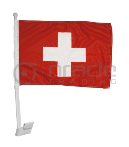 Switzerland Car Flag