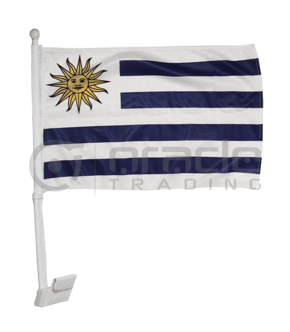 Uruguay Car Flag