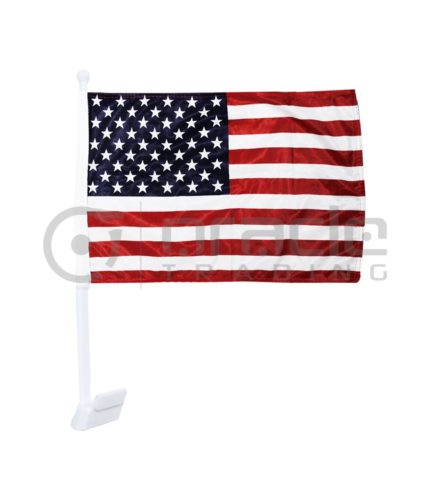 USA Car Flag