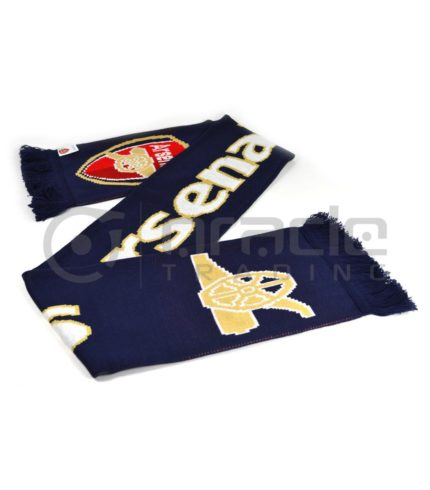 Arsenal Knitted Scarf - UK Made