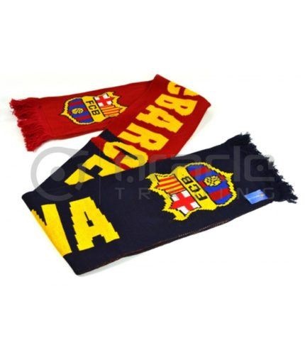Barcelona Knitted Scarf - UK Made