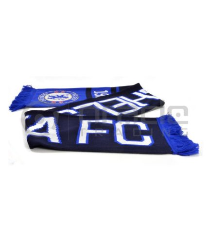 Chelsea Knitted Scarf - UK Made