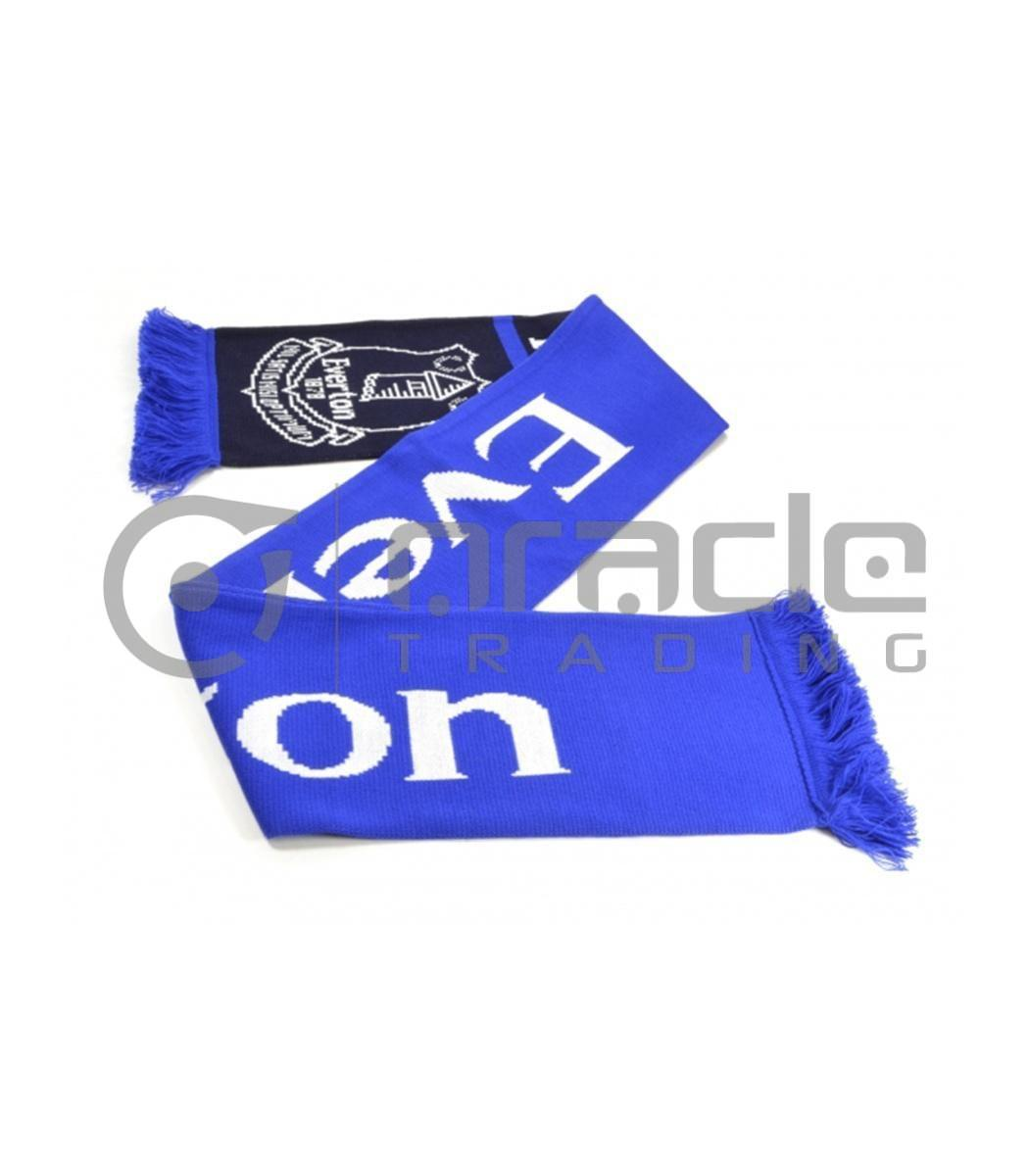 Everton Knitted Scarf - UK Made