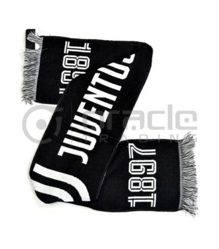 Juventus Knitted Scarf - Black