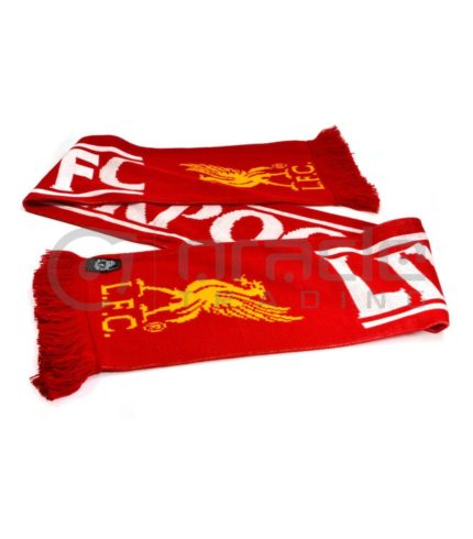Liverpool Knitted Scarf - UK Made