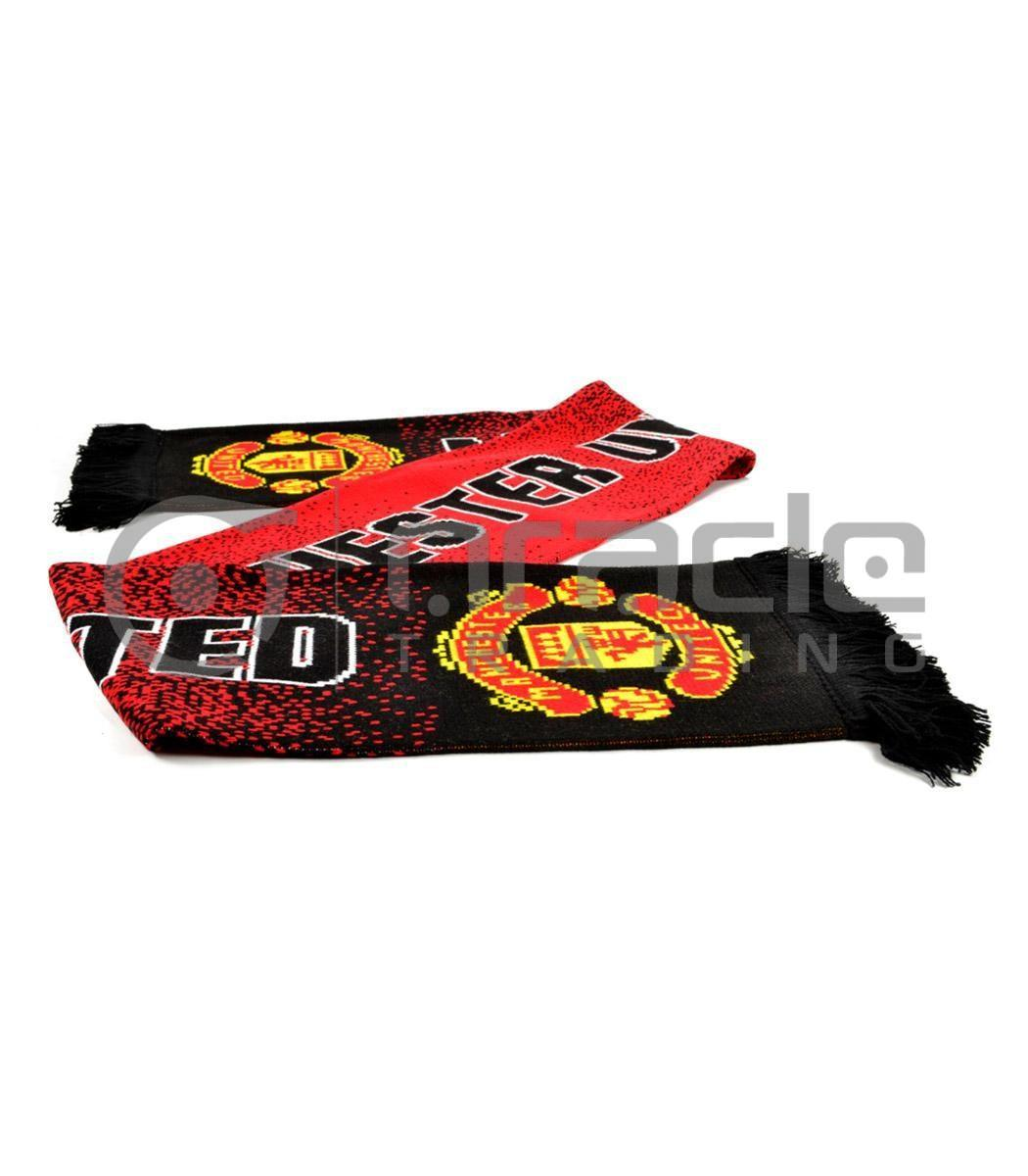 Manchester United Knitted Scarf - UK Made