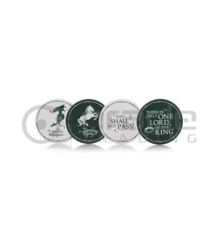 Lord of the Rings 4-Pack Coaster Set