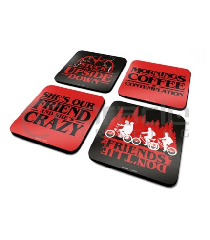 Stranger Things 4-Pack Coaster Set