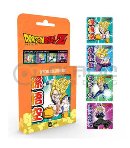 Dragon Ball Z 4-Pack Coaster Set