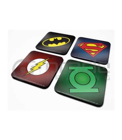 DC Comics 4-Pack Coaster Set