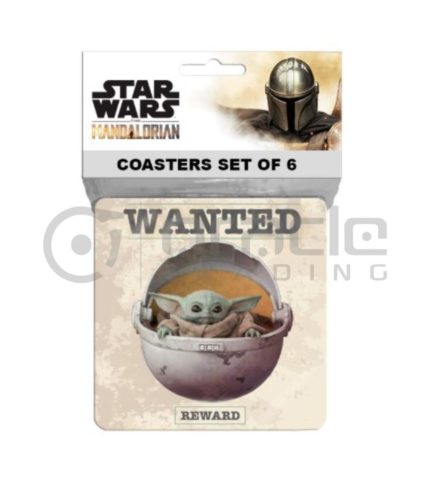 Star Wars: The Mandalorian Coasters (6-Pack)