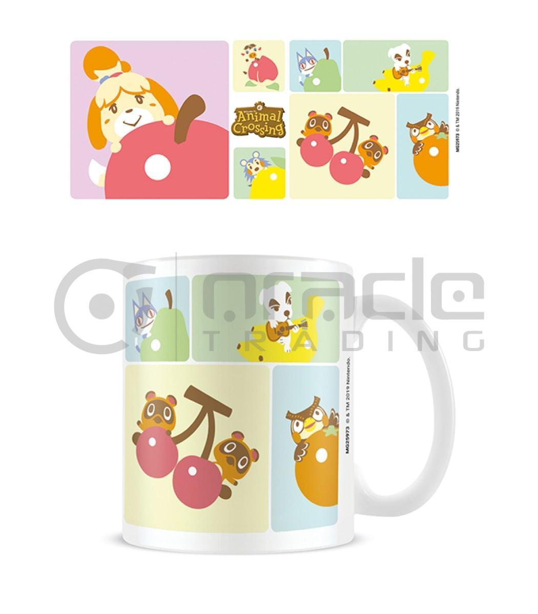 Animal Crossing Mug - Character Grid