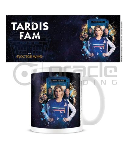 Doctor Who Mug - Tardis Fam