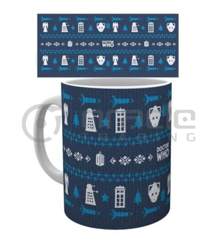 Doctor Who Mug - Ugly Sweater