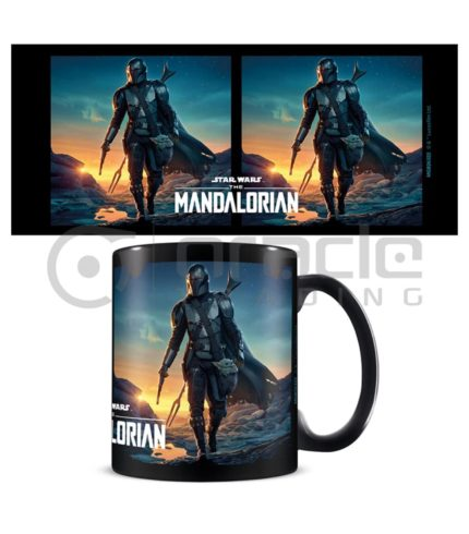 Star Wars: The Mandalorian Mug - Nightfall (Inner Coloured)