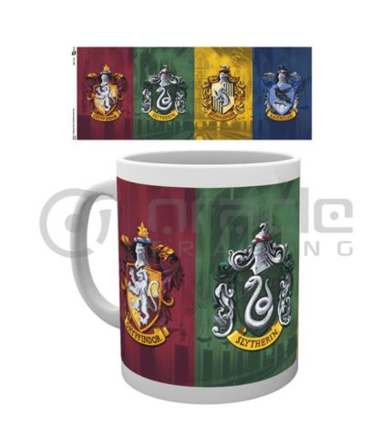 Harry Potter All Crests Coffee Mug