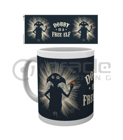 Harry Potter Dobby Coffee Mug (Free Elf)