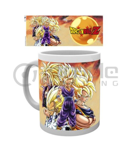 Dragon Ball Z Coffee Mug - Super Saiyans