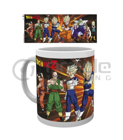 Dragon Ball Z Coffee Mug - Z Fighters
