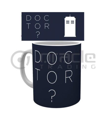 Doctor Who Question Mark Coffee Mug