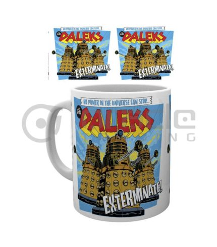Doctor Who Daleks Exterminate Coffee Mug